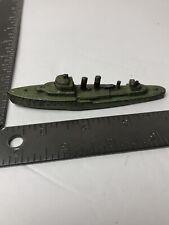 "Vintage Tootsie Toy Battleship ""United States of America"" K880 U.S.A. 4"""