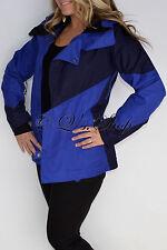 New Womens Authentic Oakley Permanent Freedom Blue Ski Snowboard Jacket Small