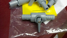 "Shut-Off Valve Barb Quarter Turn 1/2"" Barb x 1/2"" Barb (1) One Valve"
