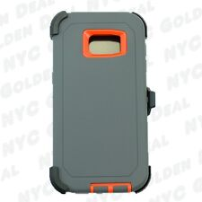 For Samsung Galaxy ( S7 Edge ) Case Cover with(Belt Clip Fits Otterbox Defender)