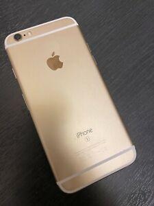 Apple iPhone 6s 64GB Gold (Unlocked) A1688 (CDMA + GSM)  Battery 94% MKQL2J/A
