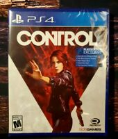 Control - PS4 - Sony PlayStation 4 - Brand NEW - Sealed