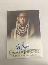 Hannah Waddingham Game of Thrones Autograph Trading Card