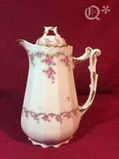 1896-1920  Limoges France Elite Works Chocolate Tea Coffee Pot
