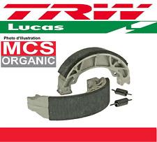 2 Machoires de frein Arrière Organic TRW Mucas  MCS950 Yamaha XV 500 750 SE
