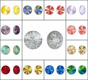 CHOOSE COLOR! 1 pc Rivoli Stones 1122 14 mm, Swarovski, Austria