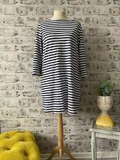 H&M - Size 18 / 20 Funky Stretch Stripe T-shirt Dress