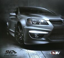 Holden HSV E Series SV Black Limited Edition Sales Brochure