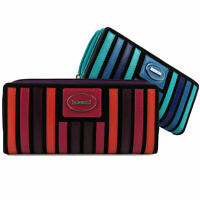 LADIES LEATHER Large Continental PURSE WALLET by Visconti Gift Box Coin Zip Arou