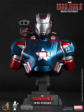 HOT TOYS IRON MAN 3 IRON PATRIOT 1/4 SCALE LIMITED EDITION BUST HTB12 NEW