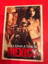 Once Upon a Time in Mexico (DVD, 2004) Antonio Bandersa Johnny Depp Selma Hayek