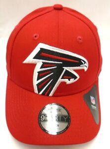 Atlanta Falcons Youth New Era 9FORTY Adjustable Cap Hat Logo Pop Red