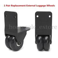 1 Pair Travel Bag Luggage Replacement External Wheel Trolley Suitcase Repair Set
