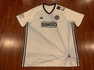 2019 Adidas Men's Philadelphia Union Away Soccer Jersey 2XL XXL US MLS