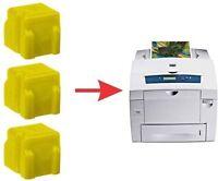 12x Genuine 8560 Xerox Phaser Ink 3ea Cyan Magenta Yellow Black Colors