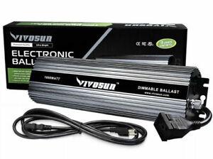 VIVOSUN 1000 Watt UL Listed Dimmable Electronic Digital Ballast USED