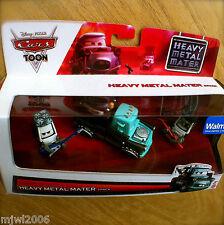 Disney PIXAR Cars TOON HEAVY METAL MATER EDDIE & ROCKY 3-pack Tall Tales diecast
