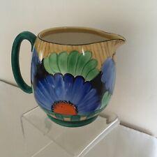 "Vintage Art Deco Grays Pottery Susie Cooper Flowers Design ""Hampton"" Jug"