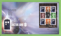 G.B. 2013 Dr Who booklet pane Royal Mail First Day Cover, Tallents House