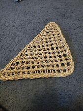 Reptile Hammock Iguana Net Hermit Crab Terrarium for Reptile Triangle