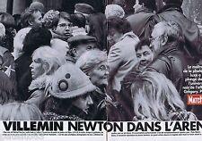 COUPURE DE PRESSE CLIPPING 1993 VILLEMIN, HELMUT NEWTON dans l'Arène (12 pages)