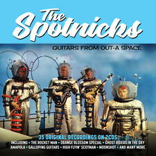 The Spotnicks - Guitars From Out-A Space - 35 Original Recordings 2CD NEW/SEALED