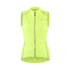 Chaleco de ciclismo para mujer sin mangas ropa deportiva reflectante