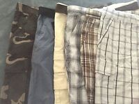 Men Faded Glory - Above The Knee Shorts - You Pick - With Cargo Pockets or Not