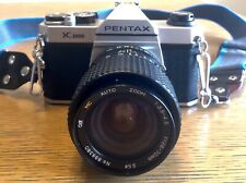 PENTAX K1000 Asahi Opt. Co SLR Film Camera w/ Lens F=28-70mm 55 Vintage