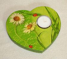 Markenlose Deko-Kerzenständer & -Teelichthalter aus Holz für Teelichter
