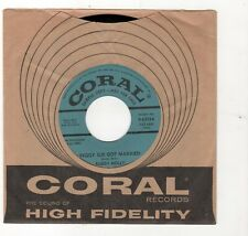 ROCKABILLY-BUDDY HOLLY-PEGGY SUE GOT MARRIED/CRYING, WAITING, HOPING-CORAL 62134
