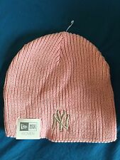 New York Yankees Women's Pink Knit Cap with embroidered Logo (NWT) discounted