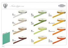 Nastro doppio raso 40 mm rotolo bobina da 50mt vari colori fai da te bomboniera