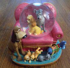 Disney Lady and the Tramp Snowglobe - in Box - READ DESCRIPTION