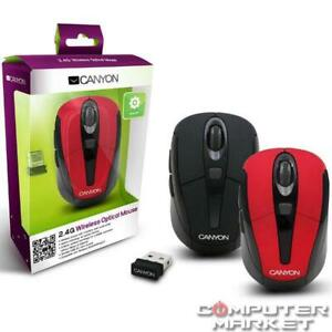 Mouse CANYON CNR-MSOW06B Wireless Black