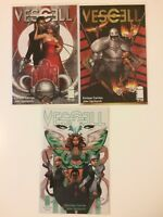 Lot of 3 Vescell #1 2 8 Image Comics (2011) 1st prints VF/NM