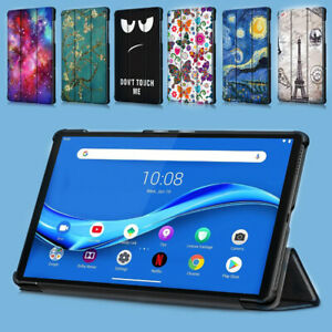 Ultra Thin Smart Art Case Cover for Lenovo M10 Plus FHD 10.3in Tablet