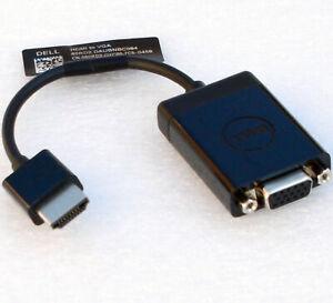 HDMI MALE AUF VGA FEMALE KABEL ADAPTER DELL 60RD2 060RD2 CN-060RD2 SCHWARZ  V185