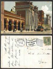 1909 Massachusetts Postcard - Boston - North Railroad Station