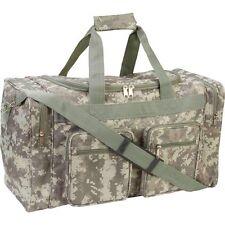 """Duffel Bag 21"""" Heavy Duty Acu Digital Camo Tote Gym Hunting Shoulder Range Gear"""