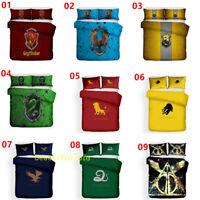 Harry Potter Single/Double/Queen/King Bed Quilt/Doona/Duvet Cover Set Pillowcase