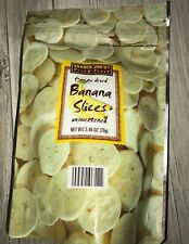 2-Pack Trader Joe's Freeze Dried Banana Slices unsweetened
