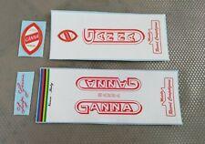 Kit adesivi compatibili Ganna F01 decals