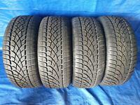4 x NEU Winterreifen Dunlop SP Winter Sport 3D 225 45 R17 91H Runflat DOT 11
