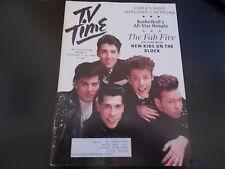 New Kids On The Block, Patty Duke Show - TV Time Magazine 1990