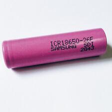 Akku e-Zigarette Samsung ICR 18650 26F 3,7V 2600mAh Kanger Eleaf CIGGO Joytech