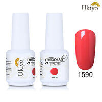 Ukiyo Soak Off Gel Nail Polish .5oz/15ml - Series 1- No Wipe Top Base Coat