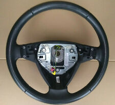 Saab 9-3 leather steering wheel in perfect condition.