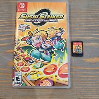 Nintendo Switch Sushi Striker: The Way of Sushido Video Game 2018 Puzzle