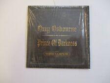 Ozzy Osbourne Prince of Darkness 2001 Video Sampler DVD